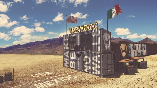 Scottish brewery BrewDog announced plans to open a bar on the US-Mexico border. Photo courtesy of BrewDog