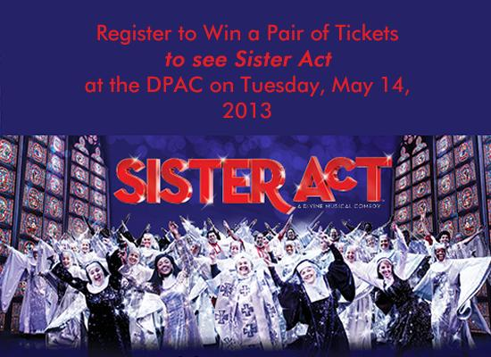 2013_Sister_Act_DPAC - Splash Image