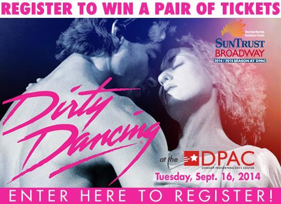 2014_Dirty_Dancing_DPAC - Splash Image