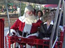 Holiday Express rolls into Pullen Park