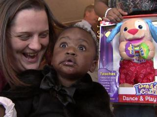 Christmas Eve brought surprises for the 72 people at Durham's Good Samaritan Shelter.
