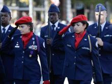 Veterans Day Parade in Fayetteville, NC