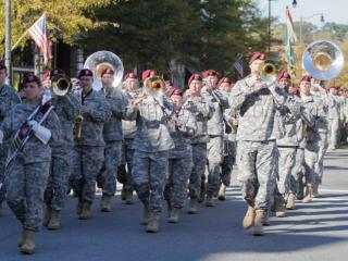 2012 Fayetteville Veterans Day parade  (photo by Wes Hight).
