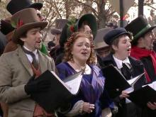 UNC-TV, WakeMed, 'Christmas Carol'ers