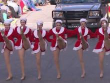 Holiday season kicks off at Raleigh with Christmas Parade