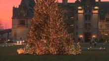 IMAGES: Christmas at Biltmore Estate in Asheville