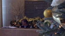 IMAGES: Holiday decorations at NC legislative complex