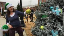 IMAGES: 2014 Triangle Christmas Tree Challenge