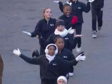 Parade part 9: Stage Door Dance to Southeast Raleigh High School
