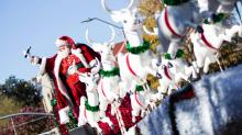 IMAGES: Raleigh Christmas Parade kicks off holiday season