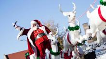 IMAGES: 2015 WRAL-TV Raleigh Christmas Parade presented by Shop Local Raleigh