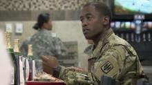 IMAGE: Fort Bragg families enjoy early Thanksgiving meal