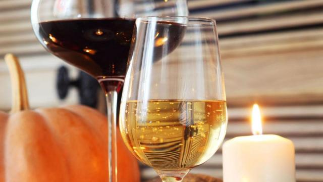 A tasty California Chardonnay is a classic choice to pair with the Thanksgiving meal.