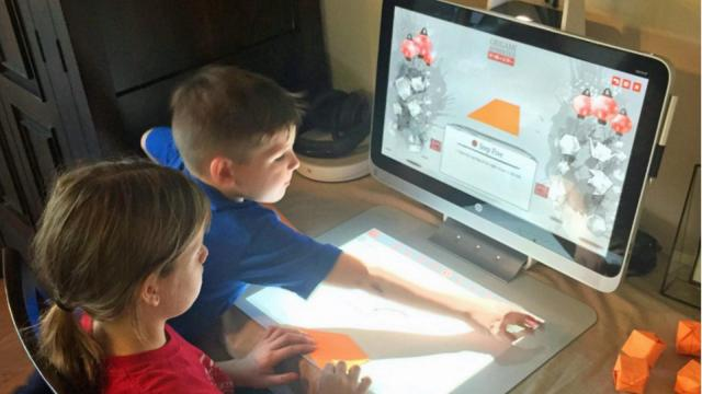 Computer drawing and assembly programs allow even the young to get creative with holiday decorations.