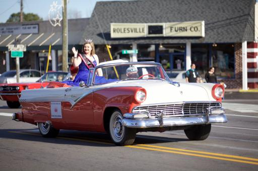 Rolesville Christmas parade
