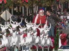 Parade part 18: Wake County EMS through Santa