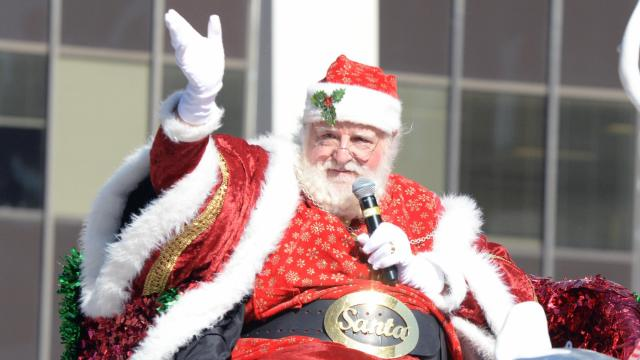 raleigh christams parade in downtown raleigh on saturday november 19 2016 the event
