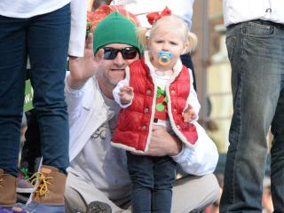 Raleigh Christams Parade in Downtown Raleigh on Saturday, November 19, 2016.  The event draws thousands on a beautiful fall day. Photo By: Beth Jewell/WRAL Contributor