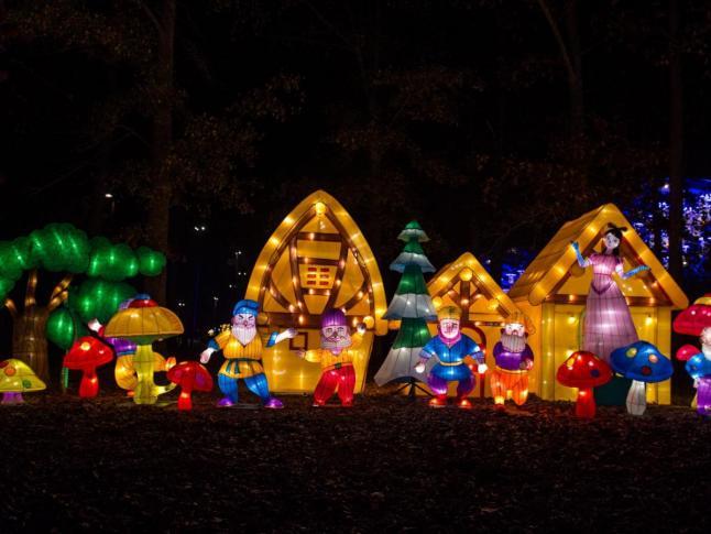 chinese lantern festival sets cary aglow wralcom