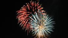 Flotillas and fireworks light up North Carolina waters