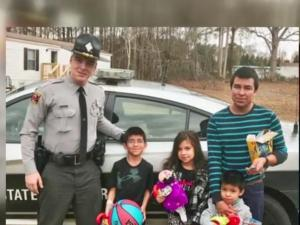 After a tragic accident took the life of a mother, a trooper who responded to the scene was touched by what he found.