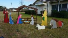 IMAGES: Complaint drives nativity from Butner gazebo