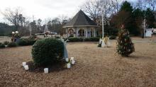 For years, residents have been able to bring their own decorations to Gazebo Park in Butner.