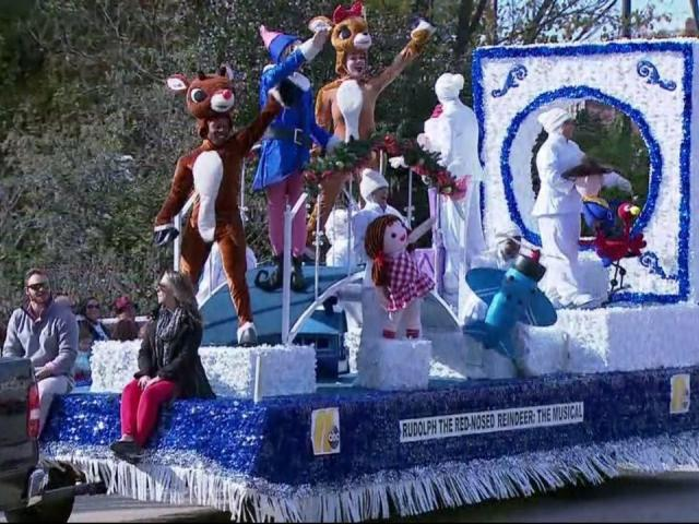2017 raleigh christmas parade