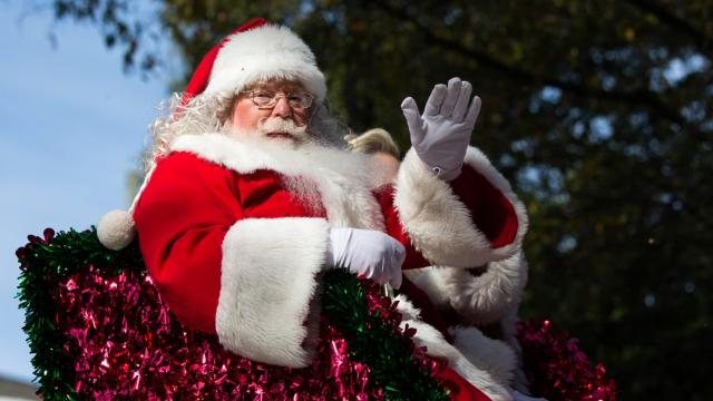 The 2017  Raleigh Christmas Parade presented by Shop Local Raleigh. (John West/WRAL Contributor)