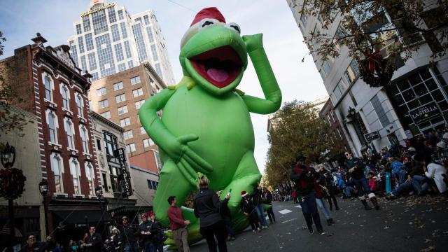 the 2017 raleigh christmas parade presented by shop local raleigh john westwral