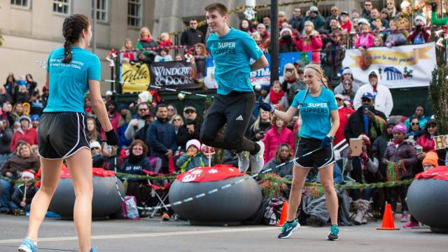 Raleigh Christmas Parade in downtown Raleigh on Saturday, November 17, 2018. (Photo By: Beth Jewell/WRAL Contributor)