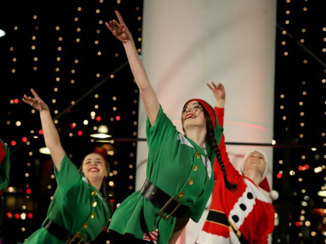 Lucky Strike Tower Celebration Kicks Off Durham Holiday Season