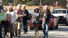 IMAGES: Many line streets for Youngsville Christmas parade