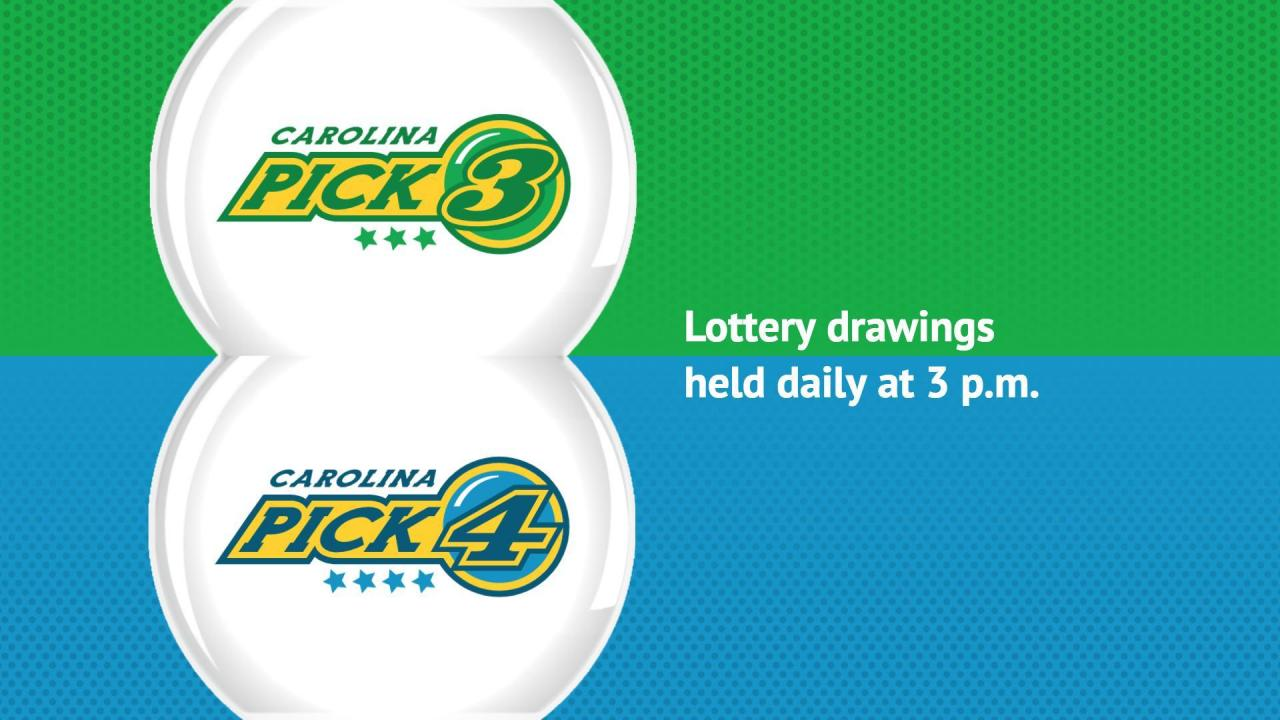 Daytime Pick 3 And Pick 4 Drawing Wral Com