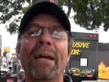 Mark visits the Lowe's Motor Speedway and gets a shout out from