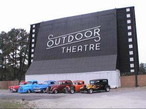 Outdoor Theatre on Raleigh Rd in Henderson.