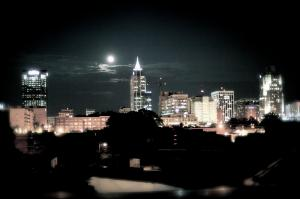Another beautiful night in downtown Raleigh. Photo by Out & About editor Tyler Helikson.