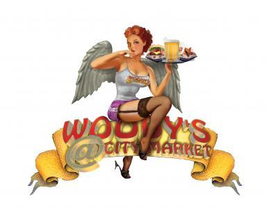 Woody's @ City Market logo