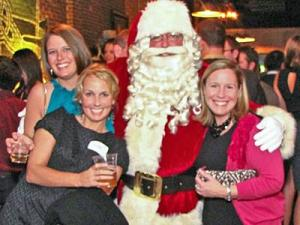 A photo from the 2010 Santa Ball