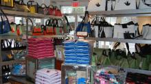 Plenty of holiday stock available at Stitch - Holly Aiken's Downtown Raleigh Store