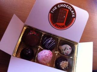 Truffles from The Chocolate Door (Photo by Chris Reid)
