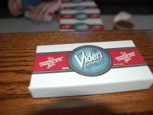 Videri Chocolate Factory is located at 327 W. Davie St. in Raleigh.