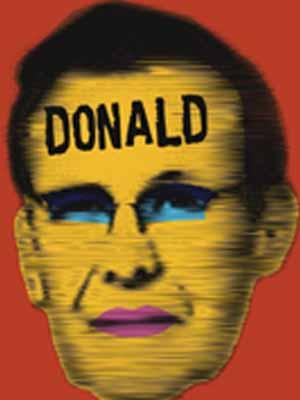 "Little Green Pig Theatrical Concern is presenting ""Donald"" at Manbites Dog Theater in Durham Jan. 26-Feb. 11."