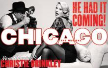 "Christie Brinkley will star in ""Chicago"" at the DPAC July 31-Aug. 5, 2012. (Image from DPAC.com)"