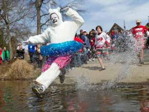 A Polar Plunge to benefit the Special Olympics in North Carolina is planned on Saturday, Feb. 25, at Lake Raleigh on North Carolina State University's Centennial campus.