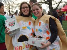 WRAL's Out & About was on the scene for the Krispy Kreme Challenge in Raleigh on Feb. 4, 2012.