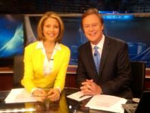 Bill Leslie and Kelcey Carlson