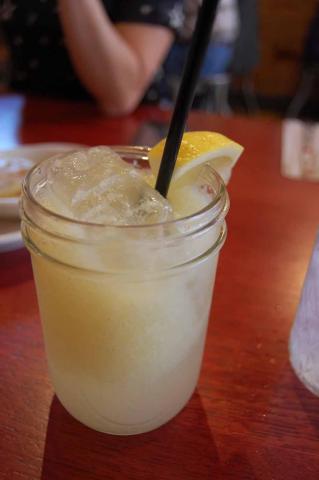 Homemade lemonade at Beasley's Chicken and Honey