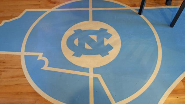 The floor at Four Corners offers a taste of the Dean Dome.