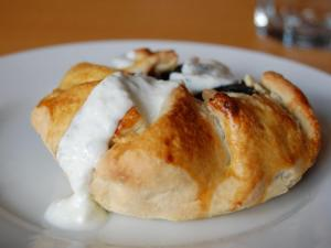 The spinach and feta handpie at PieBird.